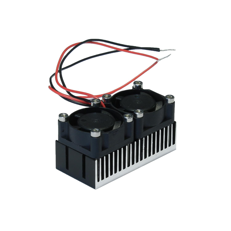 Радиатор 25x50 с двумя вентиляторами
