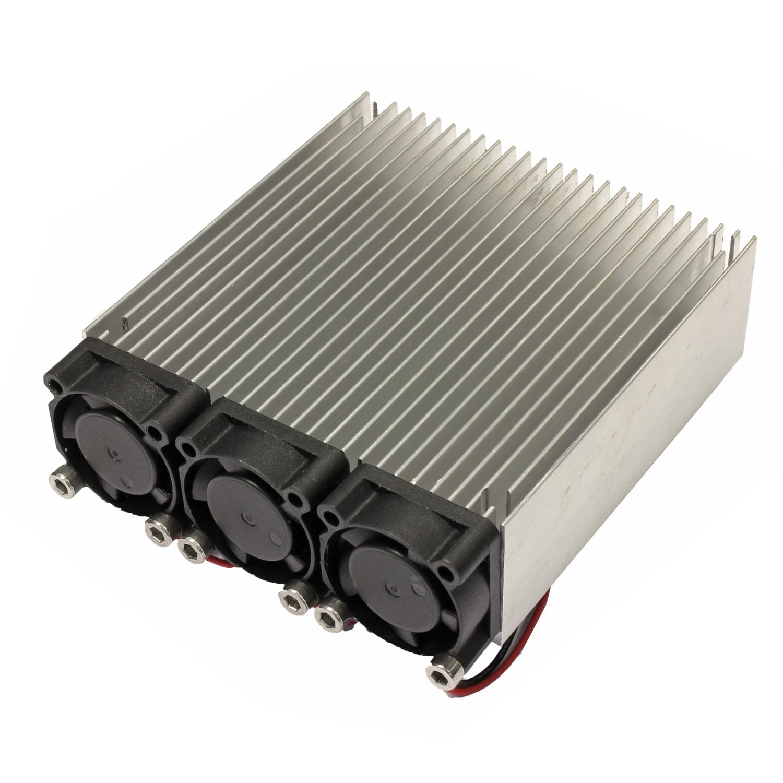 Радиатор 80x80 с тремя вентиляторами