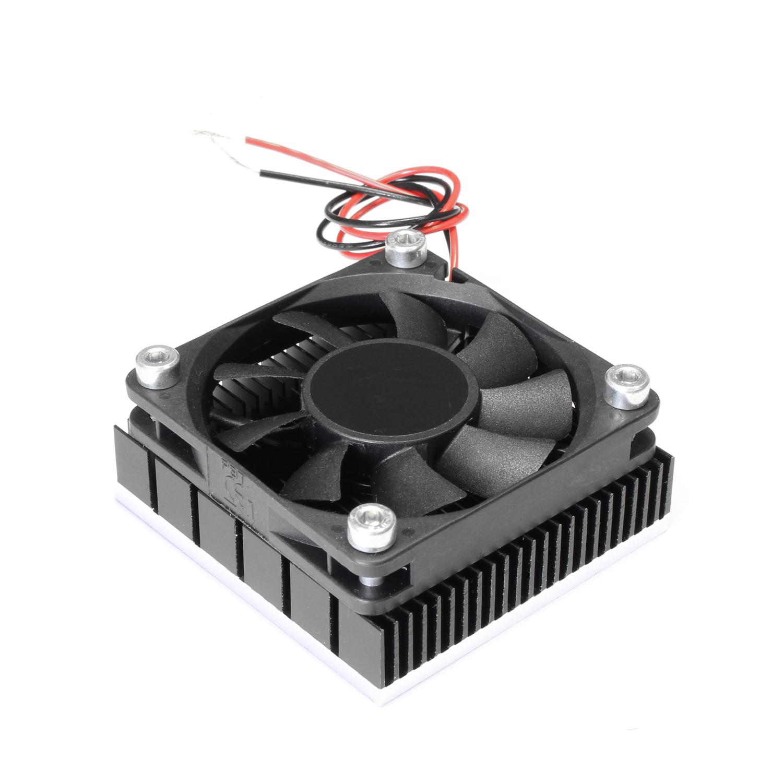 Радиатор 60x60 с одним вентилятором низкопрофильный