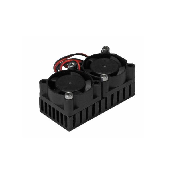 Радиатор 25x50 с двумя вентиляторами тип 2