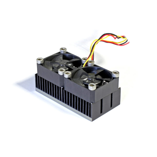 Радиатор 30x60 с двумя вентиляторами