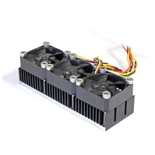 Радиатор 31x90 с тремя вентиляторами