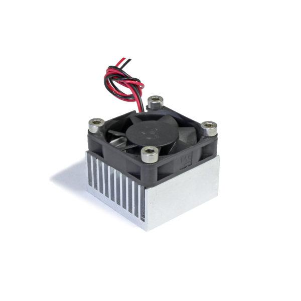Радиатор 40x40x35 с одним вентилятором